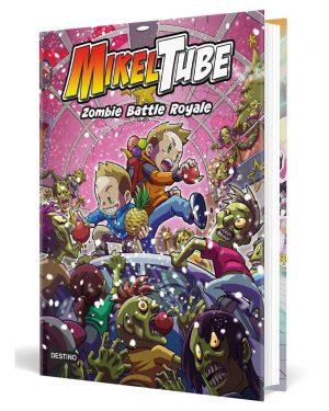 Mikeltube Zombie Battle Royale Libro