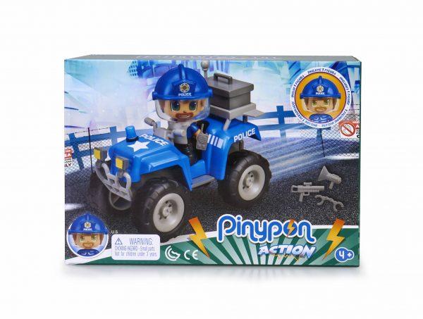 PinyPon Action Quad con policía