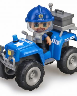 PinyPon Action Quad con policía