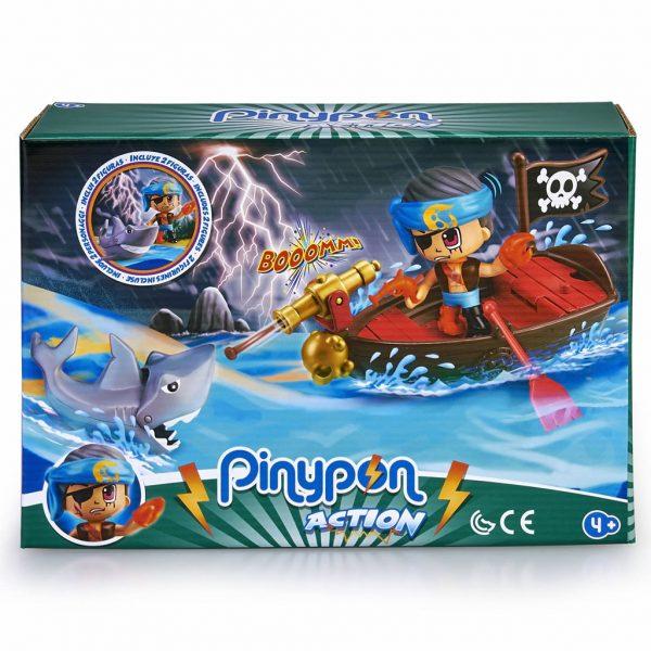 PinyPon Action Bote pirata