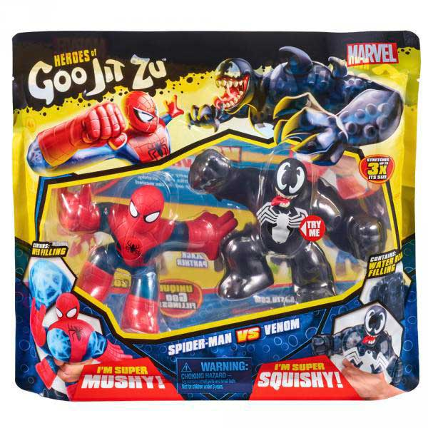Goo Jit Zu Spiderman Venom