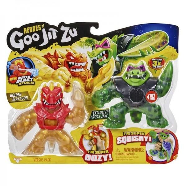 juguete pack Blazagon y rock jaw